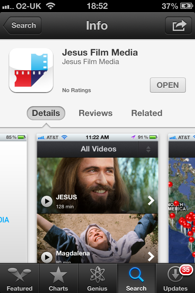 Jesus Film - The App