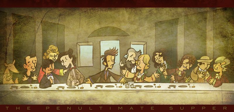 Doctor Who The Penultimate Meal