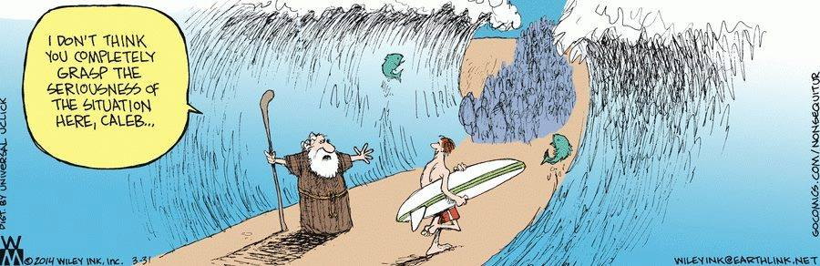 Surfing-Red-Sea-Moses-Cartoon
